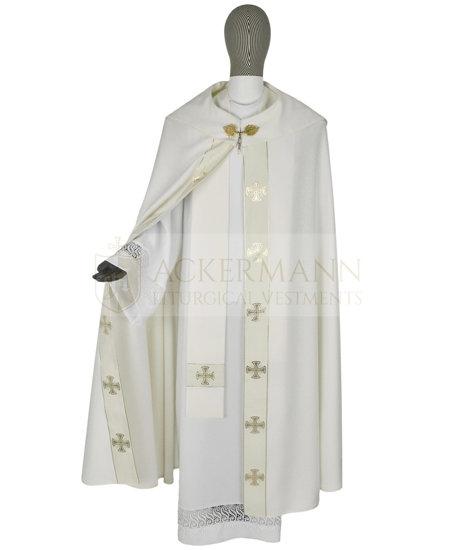 Gothic Cope Maltese Crosses model 104