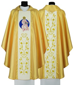 "Gothic Chasuble ""Year of Faith"" model 625"
