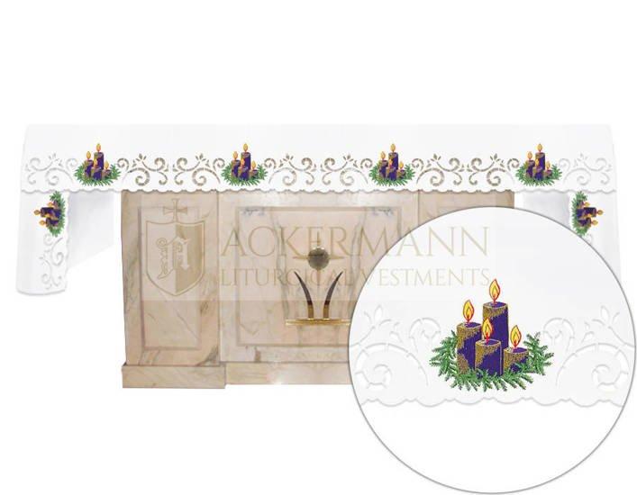 Altar cloth Advent