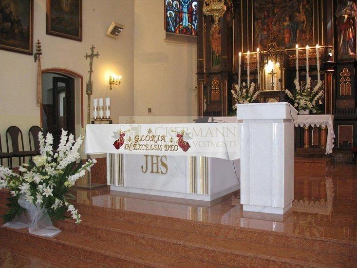 Altar cloth Gloria