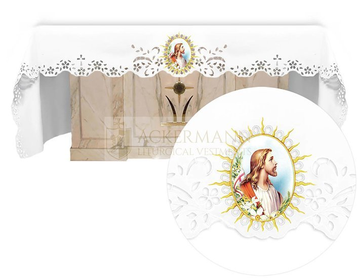Altar cloth - Openwork with an Easter theme 739