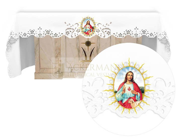 Altar cloth - Openwork with an Easter theme 742