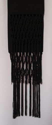 Black cincture for cassock