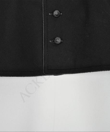 Black mozzetta
