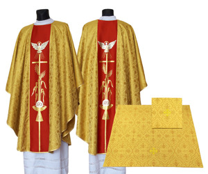 Gothic Chasuble Holy Spirit model 007