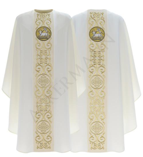 Gothic Chasuble Lamb model 706