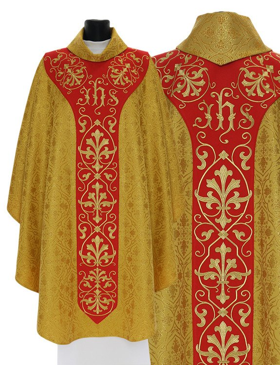 Gothic Chasuble model 756