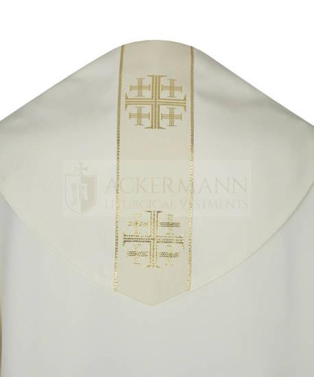 Gothic Cope Jerusalem Crosses model 103