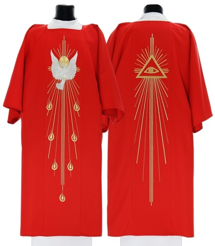 Gothic Dalmatic Holy Spirit model 535