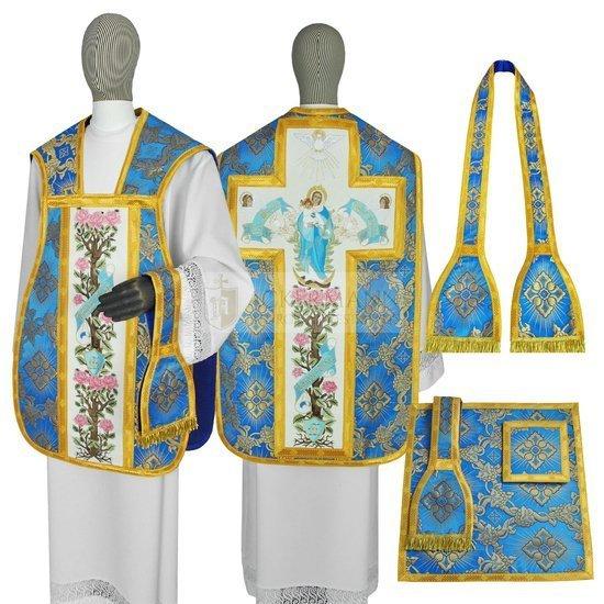 Marian Roman Chasuble Ave Maria model 473