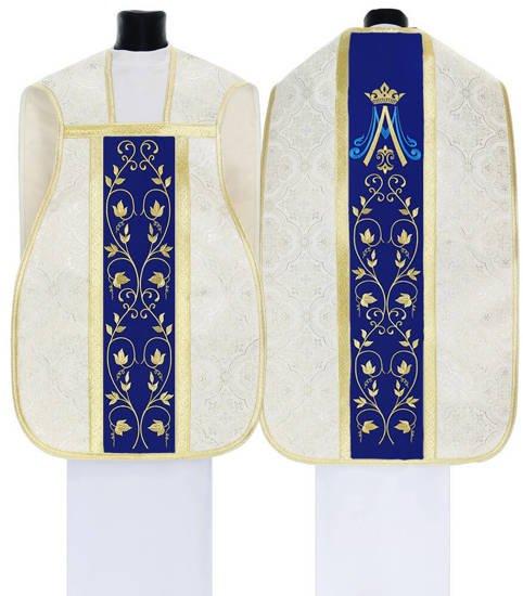 Marian Roman Chasuble model 537