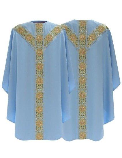 Marian Semi Gothic Chasuble model 770