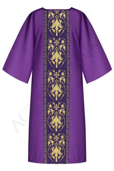 Purple Gothic Dalmatic model 557