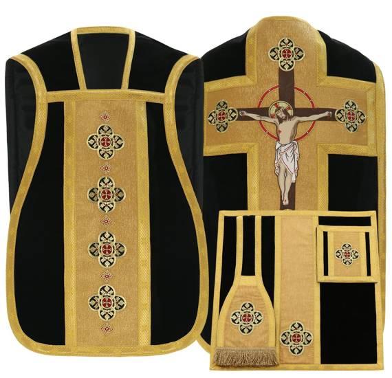 Roman Chasuble velvet model 796