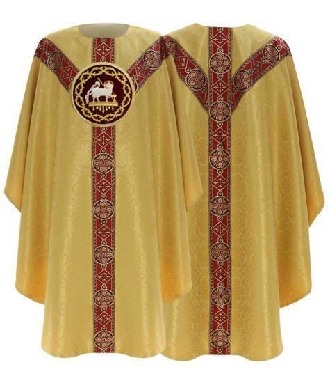 Semi Gothic Chasuble Lamb model 215