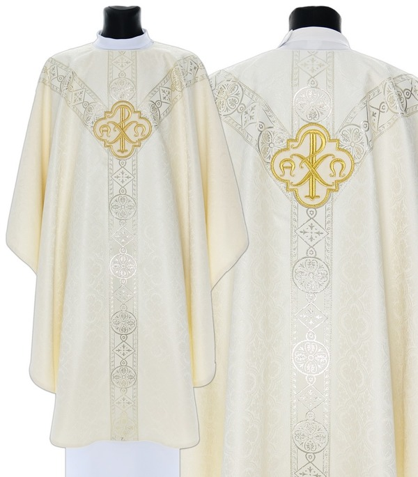 Semi Gothic Chasuble model 211