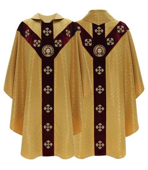 Semi Gothic Chasuble model 447