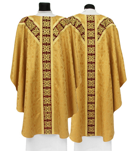 Semi Gothic Chasuble model 555