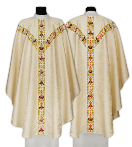 Semi Gothic Chasuble model 637