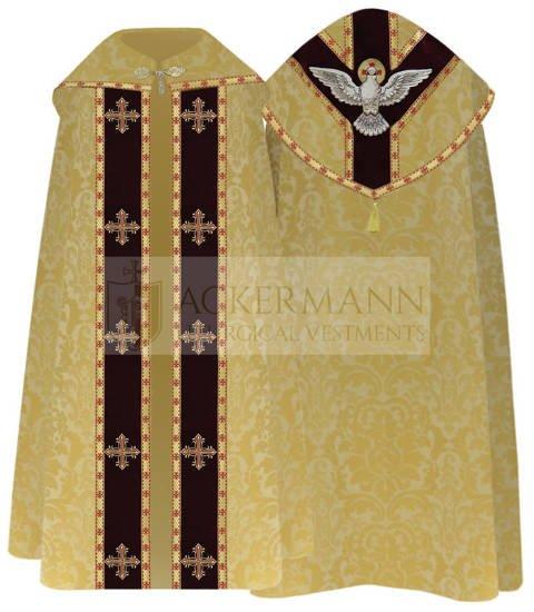 Semi Gothic Cope Holy Spirit model 809