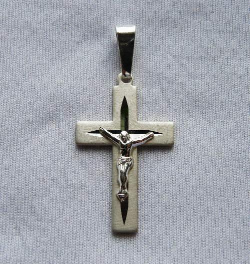 "Silver Cross ""diamond"""