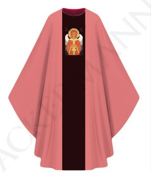 Gothic Chasuble Holy Silence model 445