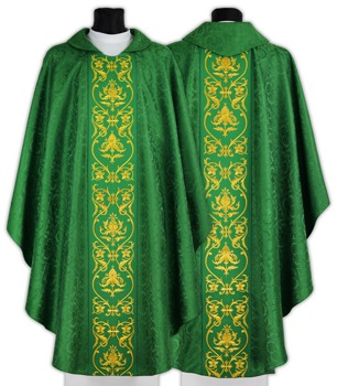 Gothic Chasuble model 674