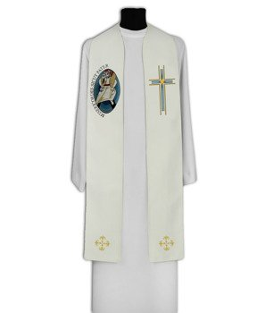 Gothic Stole Year of Mercy model 712