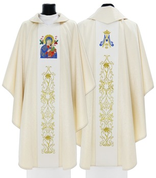 Marian Chasuble Our Lady of Perpetual Help model 408