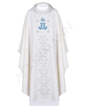 Marian Gothic Chasuble model 0001