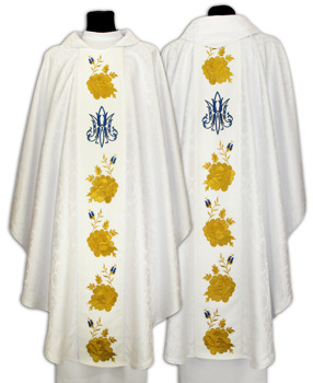Marian Gothic Chasuble model 636