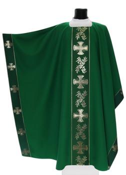 Monastic Chasuble Maltese crosses model 006