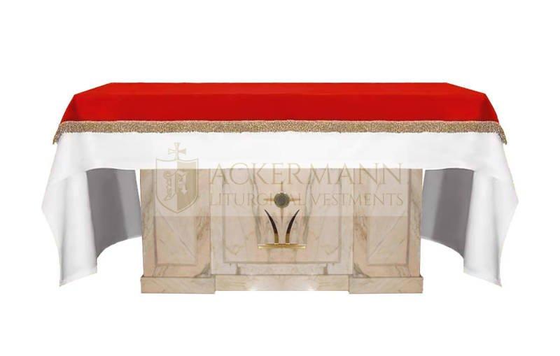 Abdeckung für den Altar aus Samt