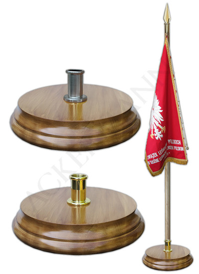 Floor stand for flag pole