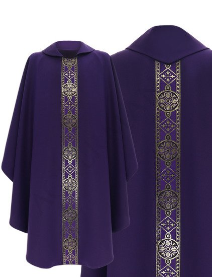Gothic Chasuble model 113