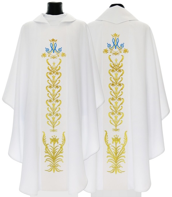 Marian Gothic Chasuble model 513