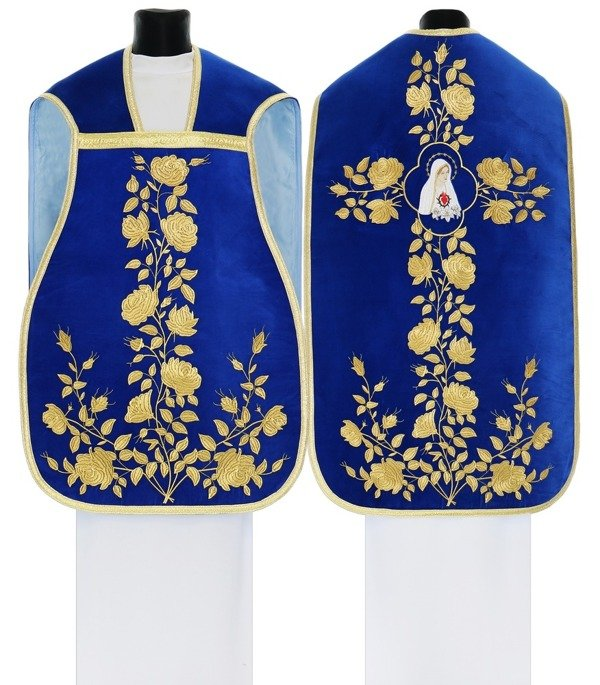Marian Roman Chasuble Our Lady