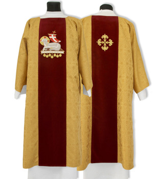 Gothic Dalmatic The Lamb of God model 601